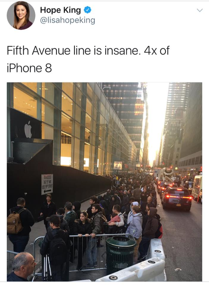 Who will buy a $1,000+ phone? These folks